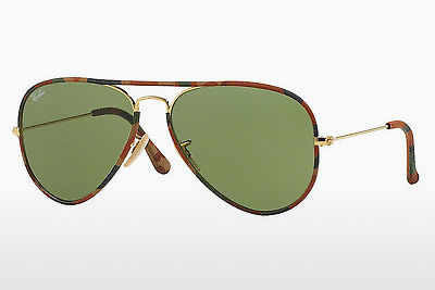 Ophthalmic Glasses Ray-Ban AVIATOR FULL COLOR (RB3025JM 168/4E) - Gold