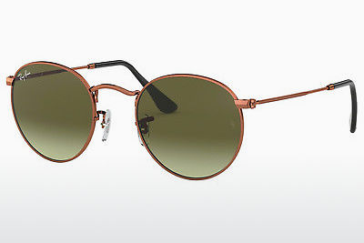 Ophthalmic Glasses Ray-Ban ROUND METAL (RB3447 9002A6) - Brown