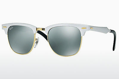 Ophthalmic Glasses Ray-Ban CLUBMASTER ALUMINUM (RB3507 137/40) - Silver, Gold