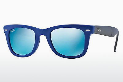 Ophthalmic Glasses Ray-Ban FOLDING WAYFARER (RB4105 602017) - Blue