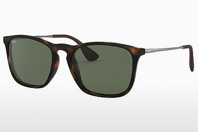 Ophthalmic Glasses Ray-Ban CHRIS (RB4187 710/71) - Brown, Havanna