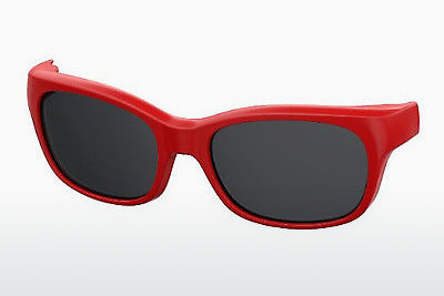 Ophthalmic Glasses Safilo SA 0007CLIP-ON C9A/M9 - Red
