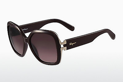 Ophthalmic Glasses Salvatore Ferragamo SF781S 604 - Burgundy