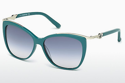 Ophthalmic Glasses Swarovski SK0104 87W - Blue, Turquoise, Shiny