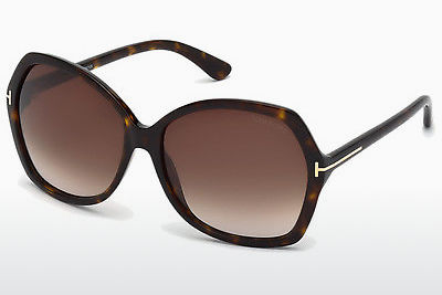 Ophthalmic Glasses Tom Ford Carola (FT0328 52F) - Brown, Dark, Havana