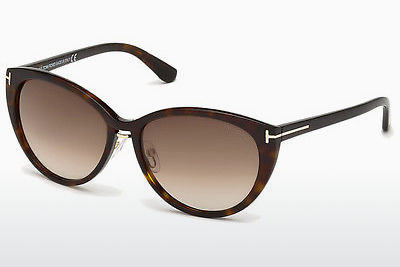 Ophthalmic Glasses Tom Ford Gina (FT0345 52F) - Brown, Dark, Havana