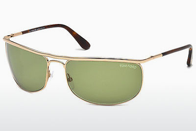 Ophthalmic Glasses Tom Ford Ryder (FT0418 28N) - Gold