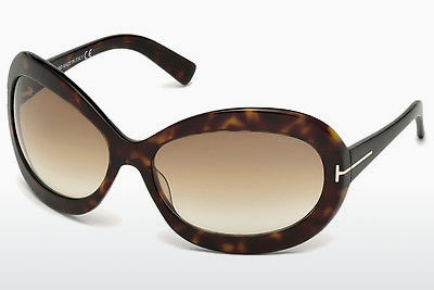 Ophthalmic Glasses Tom Ford Edie (FT0428 52F) - Brown, Dark, Havana