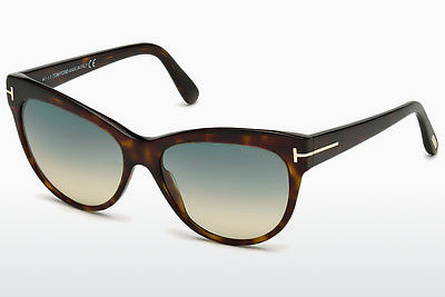 Ophthalmic Glasses Tom Ford Lily (FT0430 52P) - Brown, Dark, Havana