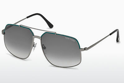 Ophthalmic Glasses Tom Ford Ronnie (FT0439 88B) - Blue, Turquoise, Matt