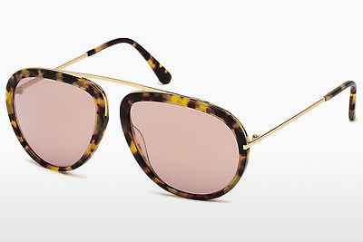 Ophthalmic Glasses Tom Ford Stacy (FT0452 53Z) - Havanna, Yellow, Blond, Brown
