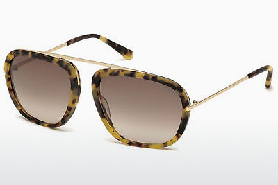 Ophthalmic Glasses Tom Ford Johnson (FT0453 53F) - Havanna, Yellow, Blond, Brown