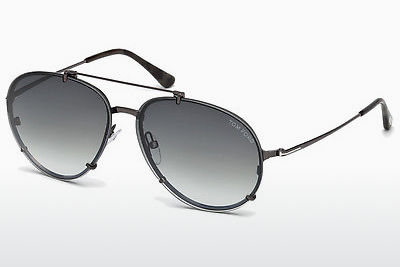 Ophthalmic Glasses Tom Ford Dickon (FT0527 08B) - Grey, Shiny