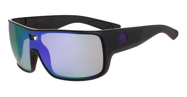 Dragon   DR HEX 005 SHINY BLACK/PURPLE ION