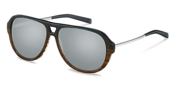 Jil Sander J3009 B silber titanium mirror 79%grey brown