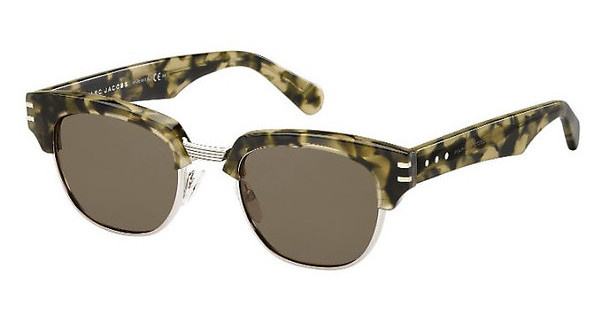 Marc Jacobs MJ 590/S BDK/8E BROWNGRNHVNPLD (BROWN)