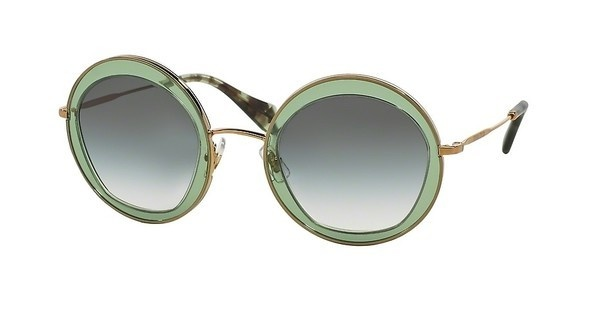 Miu Miu MU 50QS TWN1E0 GREEN GRADIENTTRANSPARENT GREEN