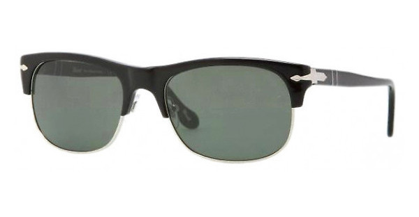 Persol PO3034S 95/31 CRYSTAL GREENBLACK