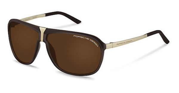 Porsche Design P8618 C brown polarizedbrown transparent
