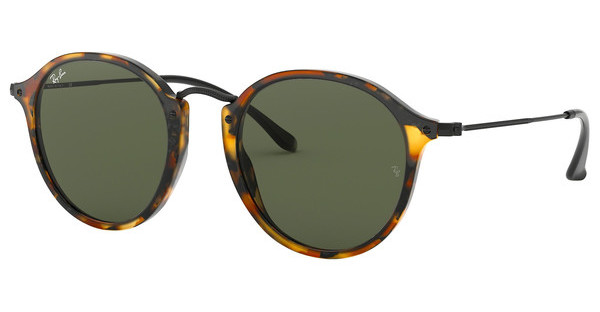 Ray-Ban RB2447 1157 GREENSPOTTED BLACK HAVANA