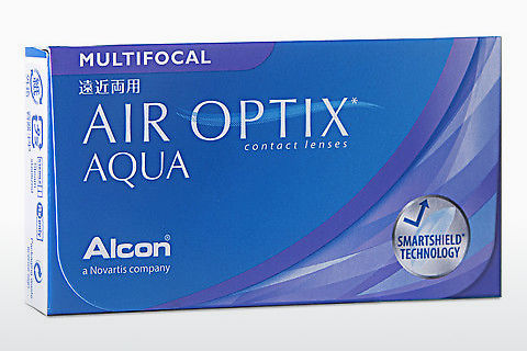 कॉन्टैक्ट लेंस Alcon AIR OPTIX AQUA MULTIFOCAL (AIR OPTIX AQUA MULTIFOCAL AOM6H)