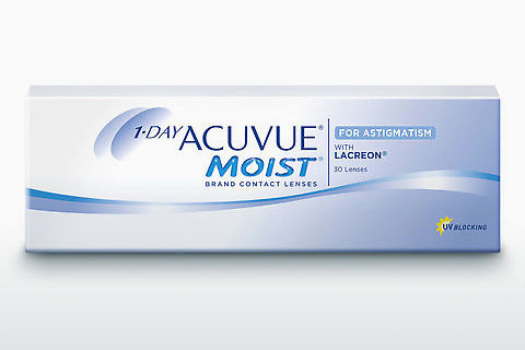 कॉन्टैक्ट लेंस Johnson & Johnson 1 DAY ACUVUE MOIST for ASTIGMATISM 1MA-30P-REV