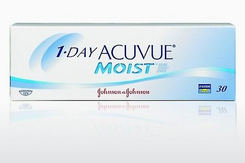 कॉन्टैक्ट लेंस Johnson & Johnson 1 DAY ACUVUE MOIST 1DM-30P-REV