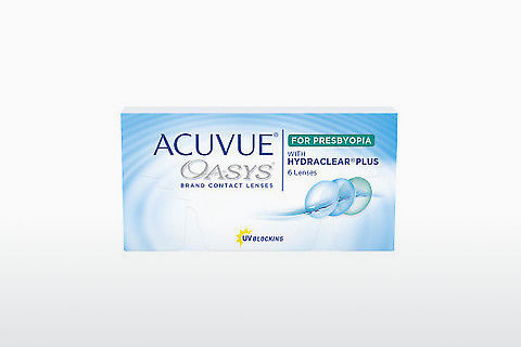 कॉन्टैक्ट लेंस Johnson & Johnson ACUVUE OASYS for PRESBYOPIA (ACUVUE OASYS for PRESBYOPIA AL-6P-REV)