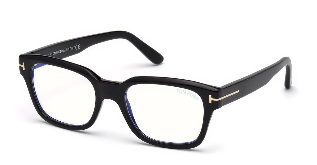 Tom Ford   FT5535-B 001 schwarz glanz