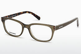Eyewear Dsquared DQ5218 045 - Brown, Bright, Shiny