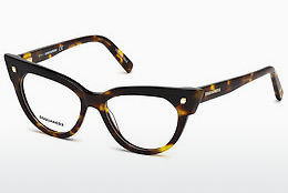 Eyewear Dsquared DQ5235 052 - Brown, Havanna