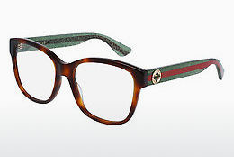Eyewear Gucci GG0038O 002 - Brown, Havanna