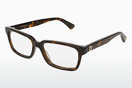 Eyewear Gucci GG0168O 002 - Brown, Havanna