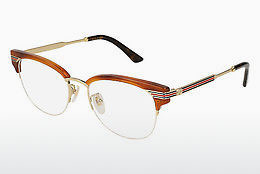 Eyewear Gucci GG0201O 005 - Brown, Havanna