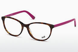चश्मा Web Eyewear WE5214 053 - हवाना, Yellow, Blond, Brown