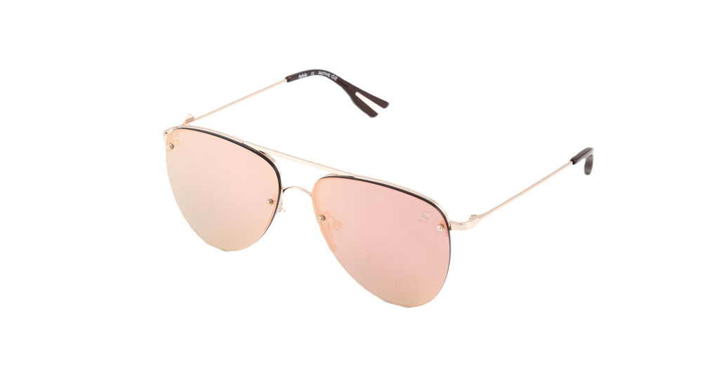 Sylvie Optics   Active 2 light gold shiny