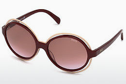 Ophthalmic Glasses Emilio Pucci EP0055 69T - Burgundy, Bordeaux, Shiny