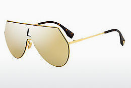 Ophthalmic Glasses Fendi FF 0193/S 001/K1 - Yellow, Gold