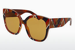 Ophthalmic Glasses Gucci GG0059S 003 - Brown, Multi-coloured