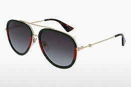 Ophthalmic Glasses Gucci GG0062S 003 - Gold