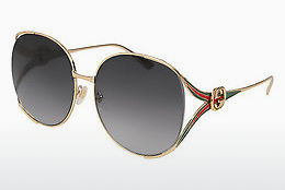 Ophthalmic Glasses Gucci GG0225S 001 - Gold