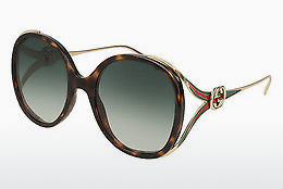 Ophthalmic Glasses Gucci GG0226S 003 - Brown, Havanna
