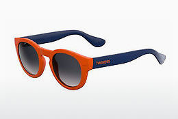 Ophthalmic Glasses Havaianas TRANCOSO/M QPS/LS - Orange, Blue