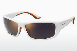 Ophthalmic Glasses Polaroid Sports PLD 7011/S IXN/OZ - White, Orange