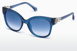 Ophthalmic Glasses Roberto Cavalli RC1080 90X - Blue, Shiny