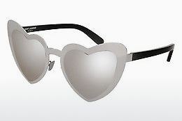 Ophthalmic Glasses Saint Laurent SL 196 LOULOU 001 - Silver