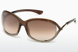 Ophthalmic Glasses Tom Ford Jennifer (FT0008 38F) - Bronze