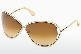 Ophthalmic Glasses Tom Ford Miranda (FT0130 28F) - Gold