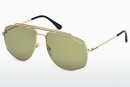 Ophthalmic Glasses Tom Ford Georges (FT0496 28N) - Gold