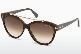 Ophthalmic Glasses Tom Ford Livia (FT0518 53F) - Havanna, Yellow, Blond, Brown